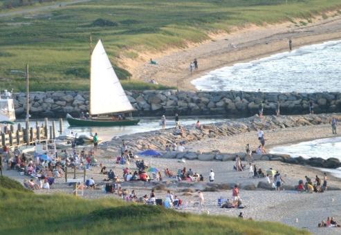 chilmark ma beaches near menemsha pond.