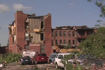 Recent Springfield MA wind damage claim