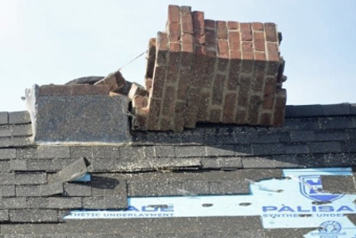 Recent Shelburne MA major roof damage claim