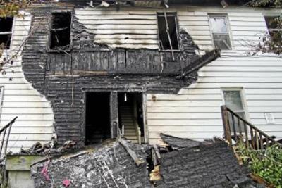 Recent Pittsfield MA fire damage claim