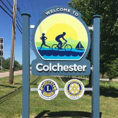 Welcome to Colchester, VT