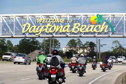 Welcome to Daytona Beach, Florida