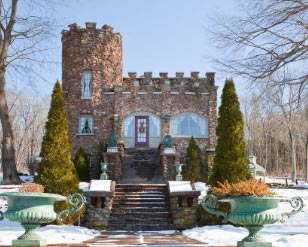 Ellington, CT Storybook Castle.