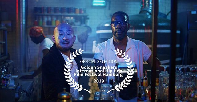 Hip Hop Cafe in official selection @goldensneakers_official film festival. Something very exciting coming. Watch this space.