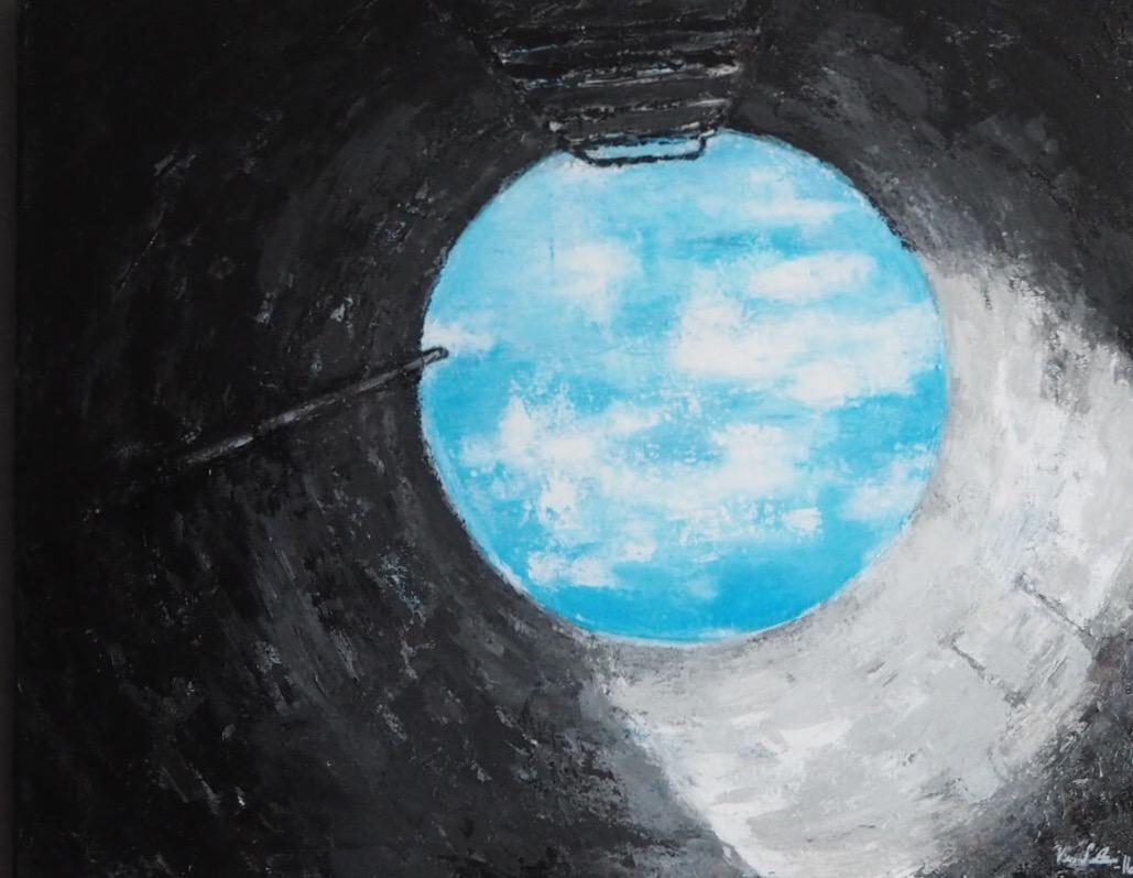 """""""Kaivosta katsottuna taivas on sinisempi"""" 2017"""