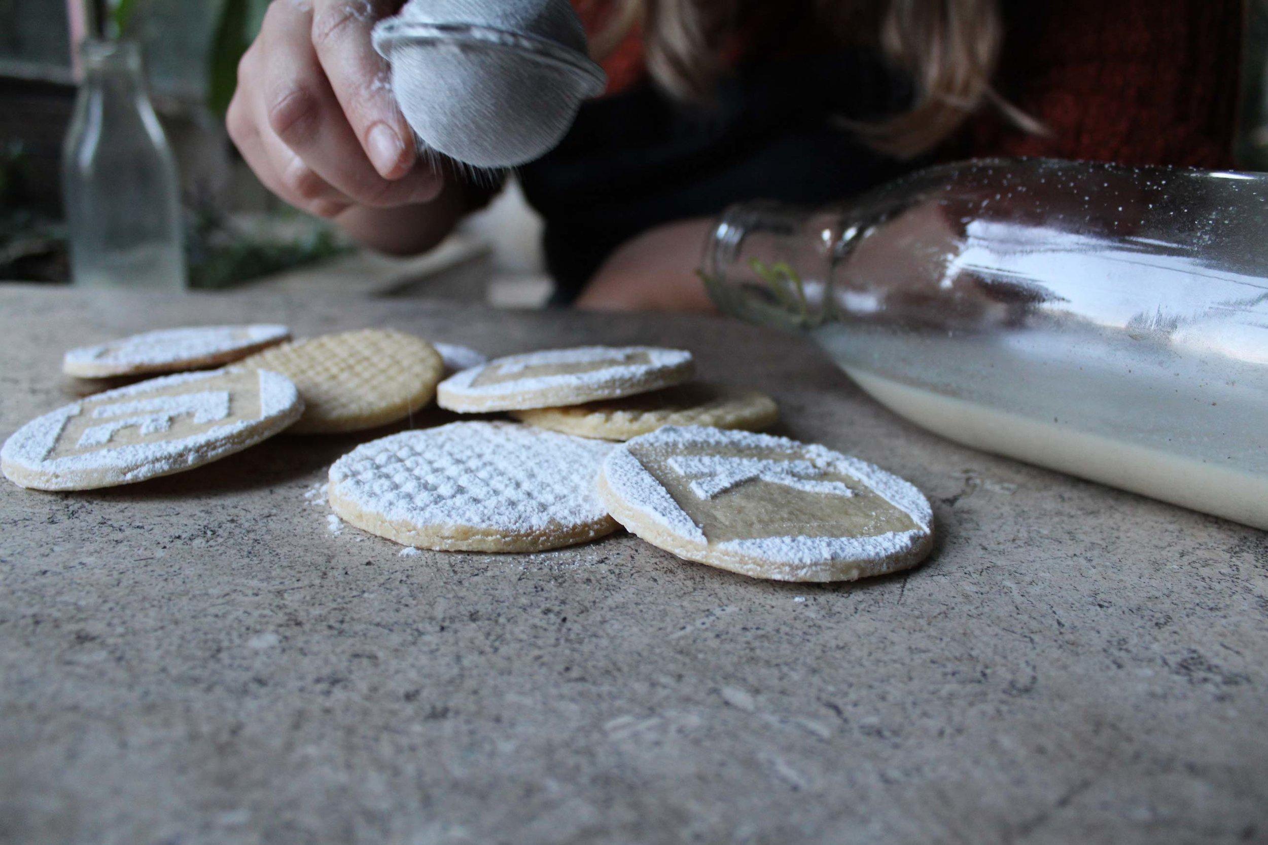 - styling & designing milk