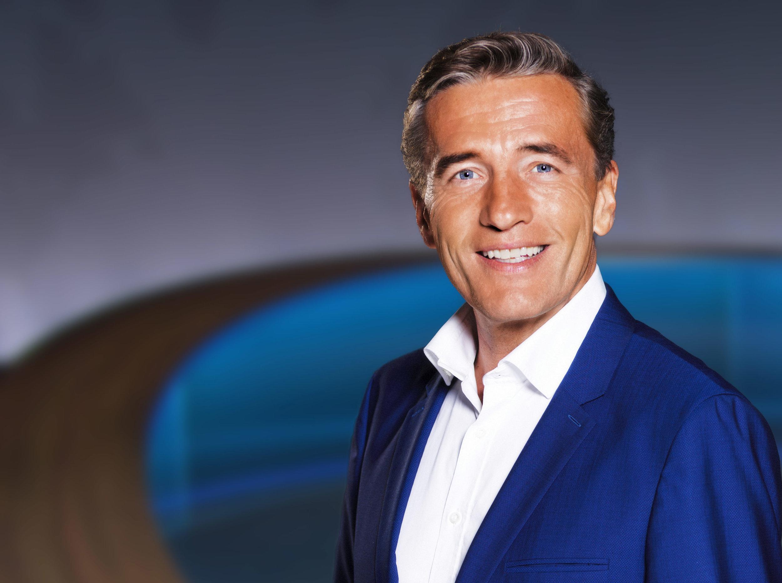 Moderator Stefan Scheider