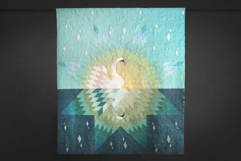 Andrea Tsang Jackson Interview at Quilts for Cure (Our Song Quilt)