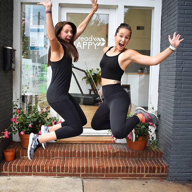 """Those """"it's almost Friday and hot outside but we feelin' fancy free & fresh inside"""" feels. Yeah we got 'em 💥 come get some @treadhappyrva later today with Coach Erin @ergraydon and early tomorrow with Coach Dudley @sore_today_soar_tomorrow to kick off your long holiday weekend mmkay #togetherweTREAD . . . #treadSUMMER #RemixYourRun #summer #memorialdayweekend #running #treadtreadBABY #liveHAPPY #runHAPPY #waHOOwa #UVAruns #EndorphinsForEVERYONE #treadHAPPY #treadTEAM #fitlife #treadTRIBE #treadTOGETHER #getfit #runcoach #Run919 #RunRaleigh #Run704 #Run434 #Run804 #RVAruns #RVAfit #CLTfit #CLTruns #HappyTreading"""