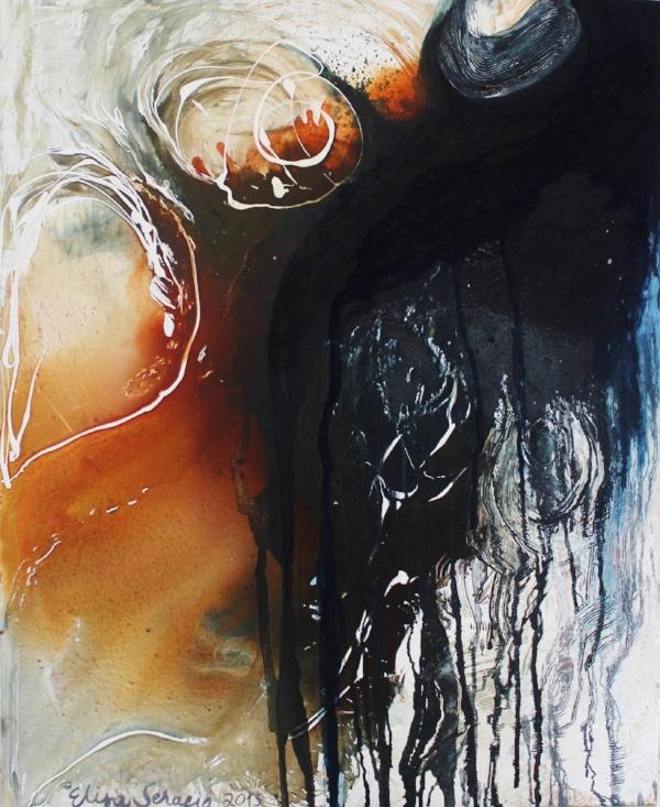Ääri, Akryyli kankaalle, 100 cm x 80 cm  Myyty / Sold