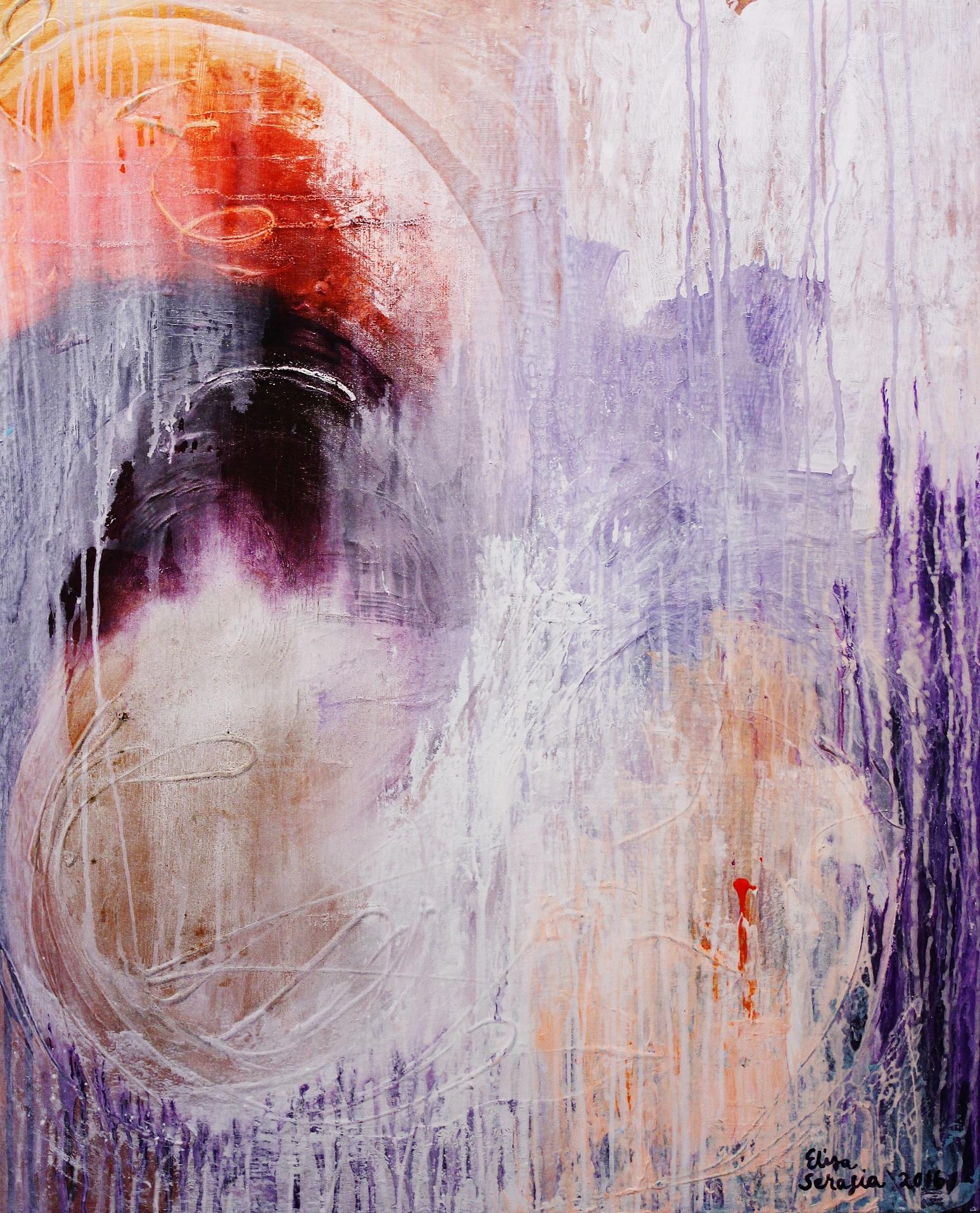 Rauhan päivät, Akryyli kankaalle, 100 cm x 80 cm  Myyty / Sold
