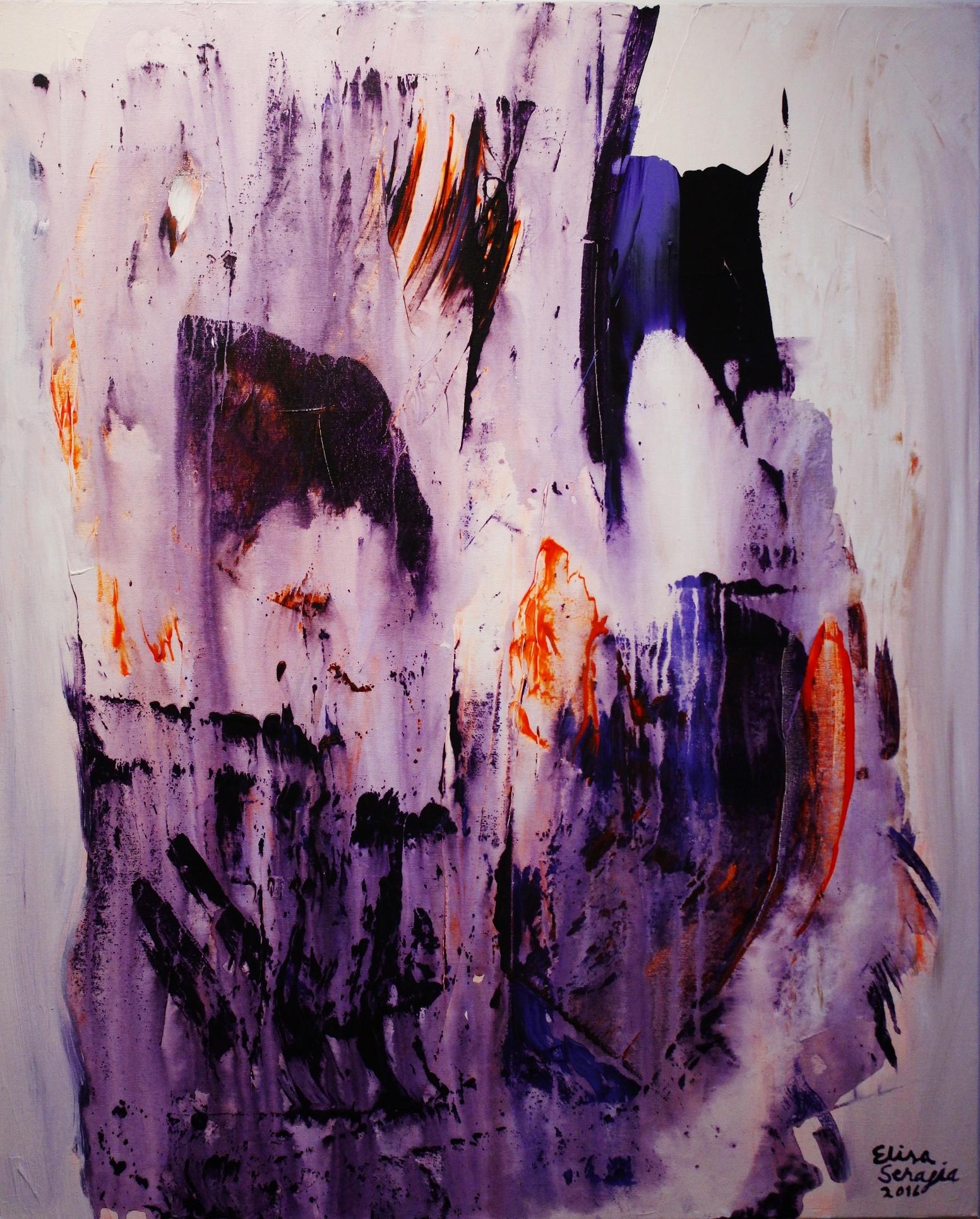 Minä sinussa sinä minussa, Akryyli kankaalle, 100 cm x 80 cm  Myyty / Sold