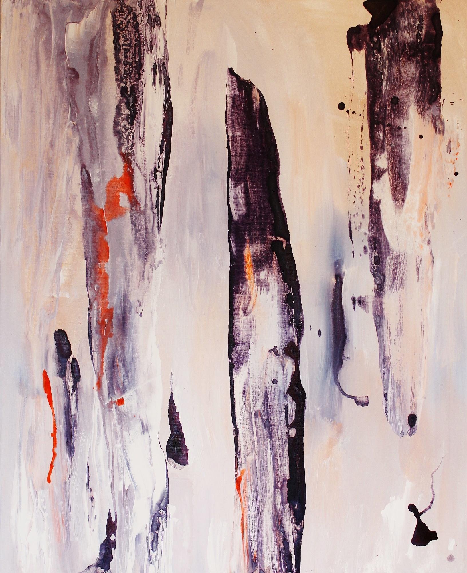 Yhteen rungot hamuaa, Akryyli kankaalle, 100 cm x 80 cm  Myyty / Sold