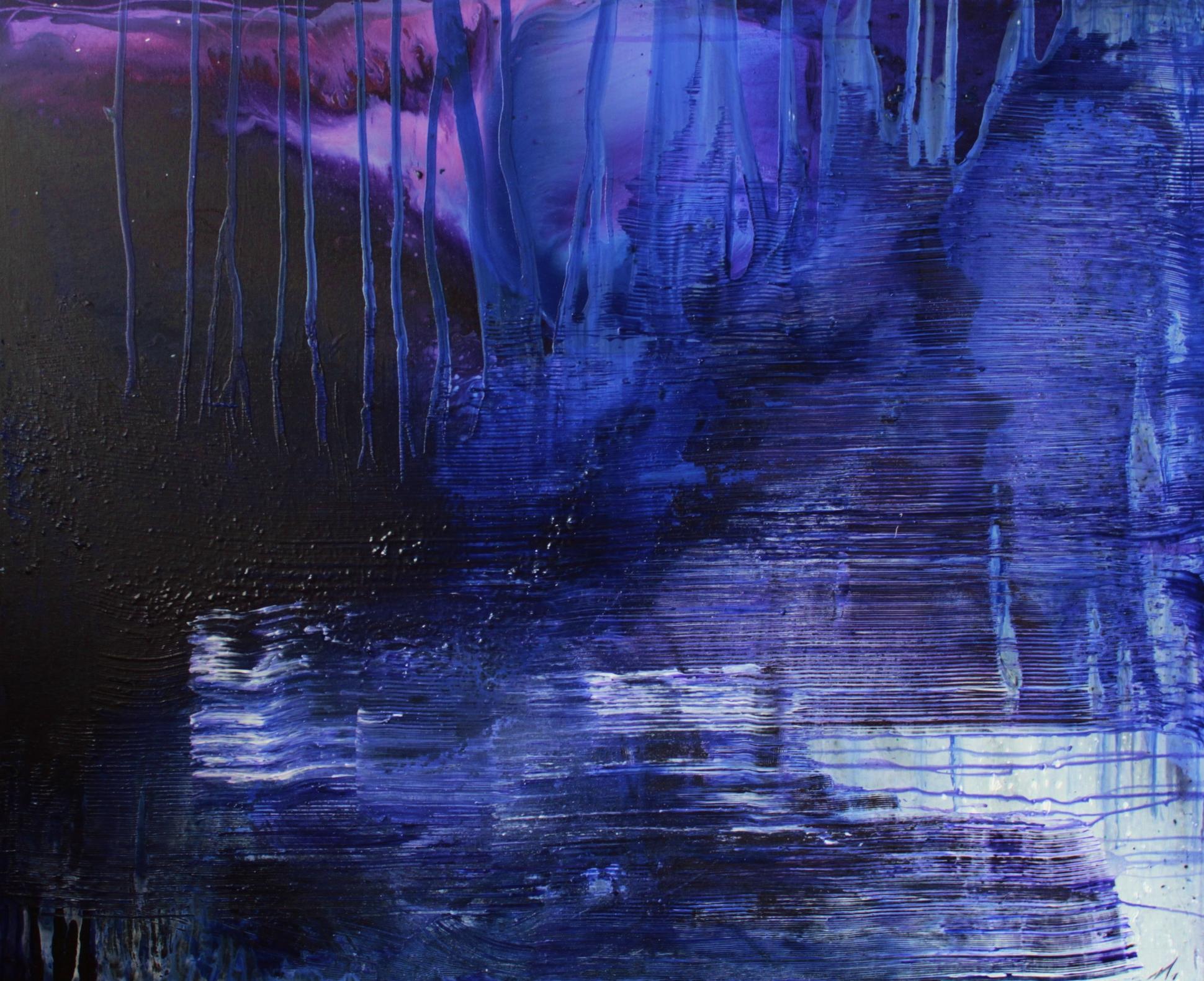 Taajuus, Akryyli kankaalle, 81 cm x 100 cm  Myyty / Sold