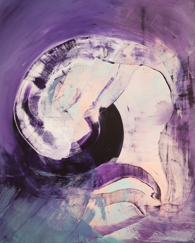 Aquapupu, Akryyli kankaalle, 100 cm x 80 cm  Myyty / Sold
