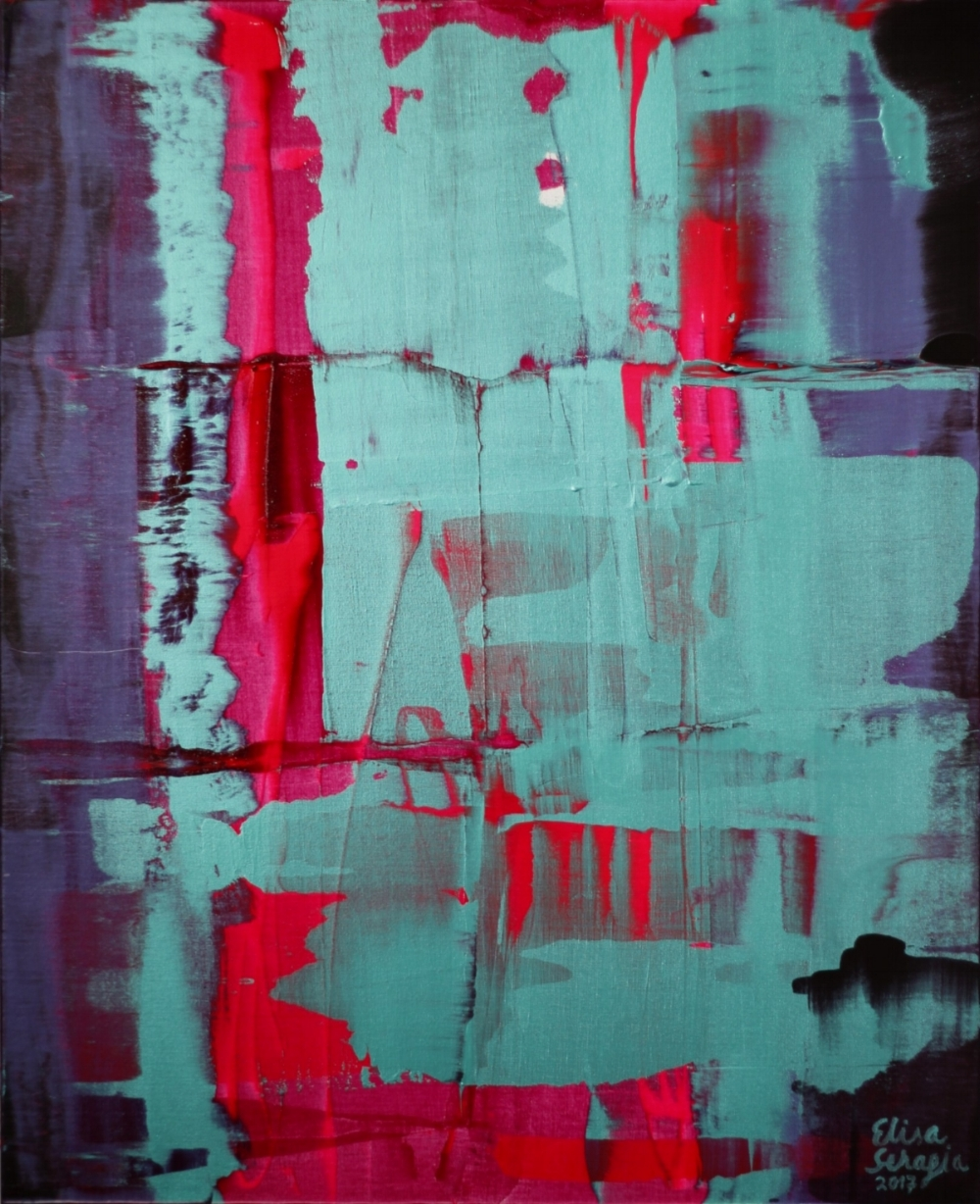 Magnitude, Akryyli kankaalle, 100 cm x 80 cm  Myyty / Sold