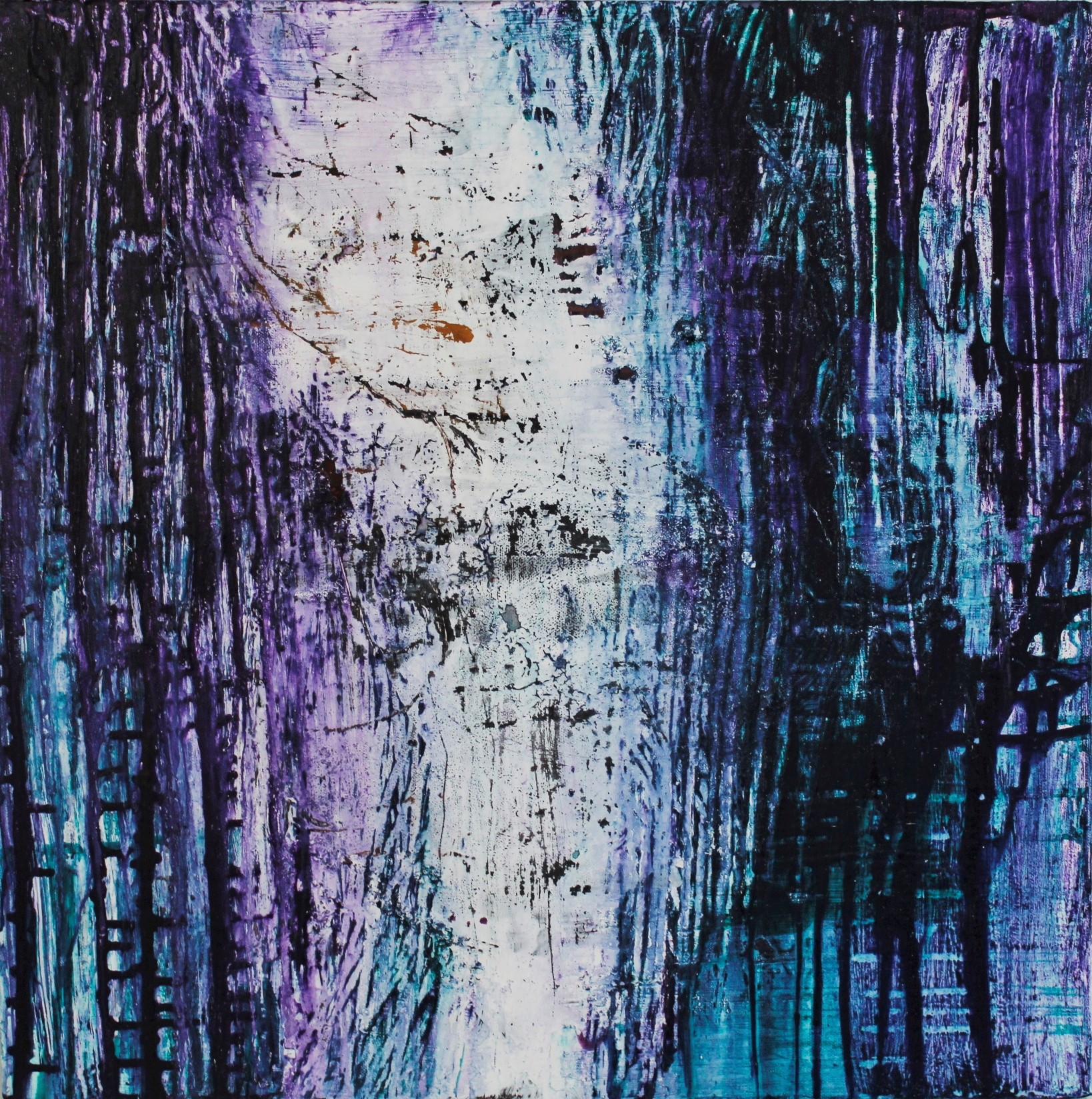 Sees, Akryyli kankaalle, 60 cm x 60 cm  Myyty / Sold