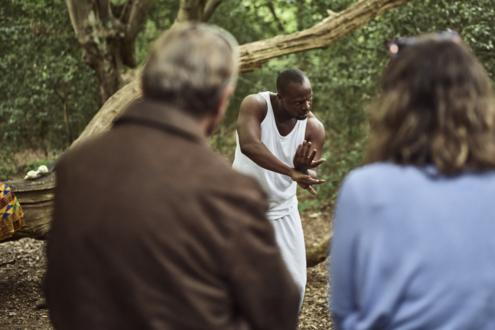 Flying Solo @The People's Forest, Waltham Forest London Borough pf Culture. Photo: Alistair H M Simmons