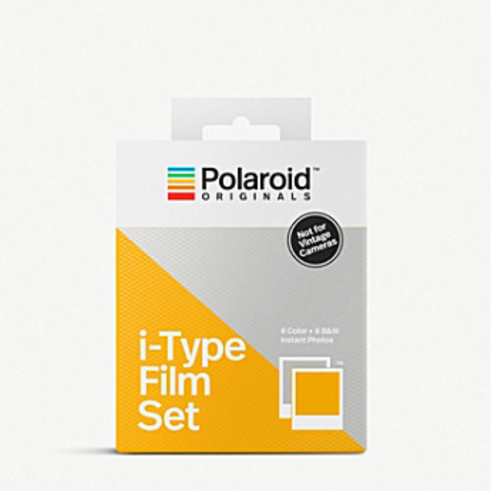 POLAROID ORIGINALS   Colour and black & white i-type instant film double pack