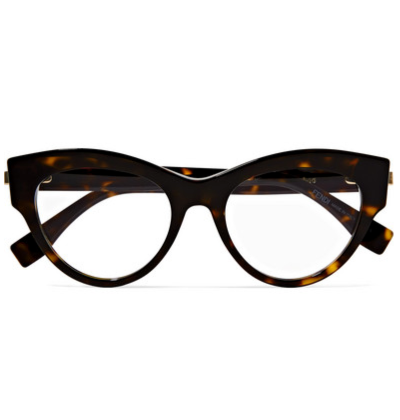 ACCESSORIES   FENDI Cat-eye acetate optical glasses
