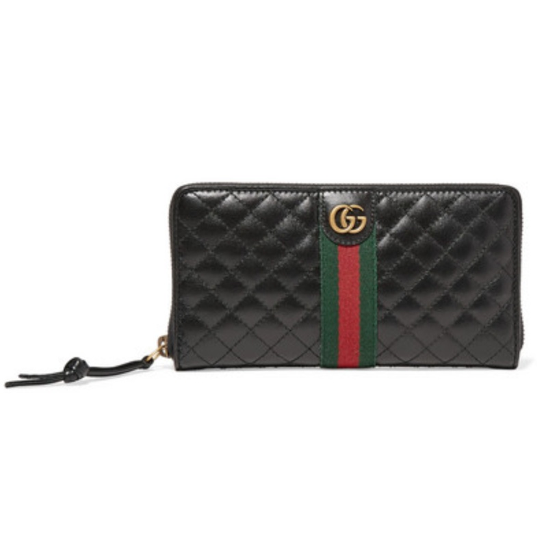 ACCESSORIES   GUCCI Quilted leather wallet