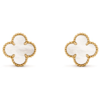 JEWELLERY   VAN CLEEF & ARPELS Sweet Alhambra stud earrings