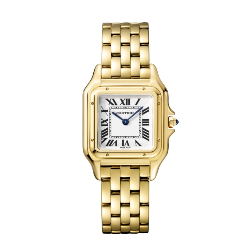 ACCESSORIES   Panthère de cartier watch medium model, yellow gold
