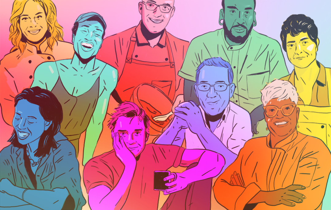 12 LGBT Food Industry Leaders Get Real About Inclusiveness In The Kitchen / BuzzFeed / Ben Haist