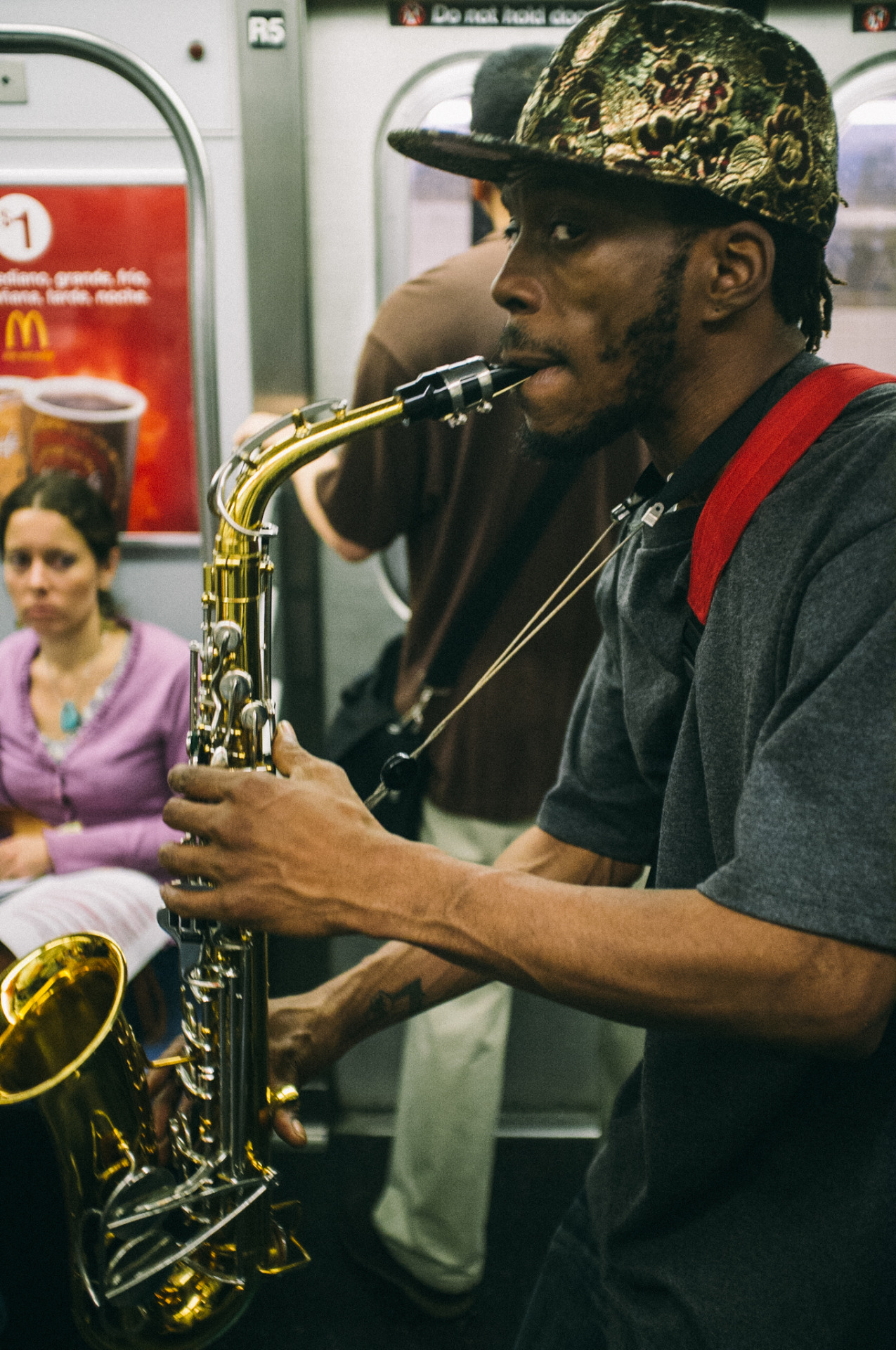 135. Subway Sax    www.willoharephotography.com
