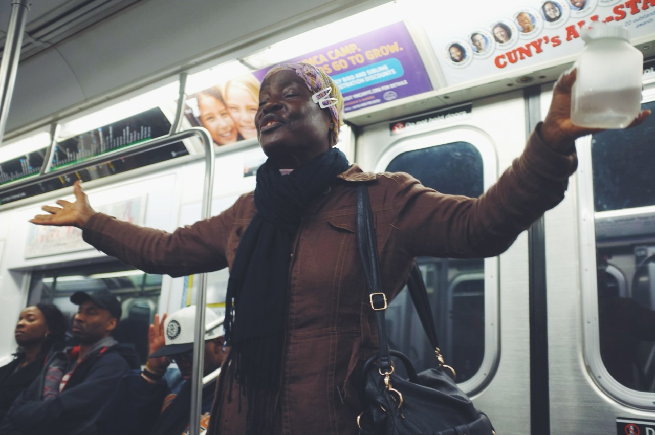 114. Subway Gospel  #streetphotography   www.willoharephotography.com