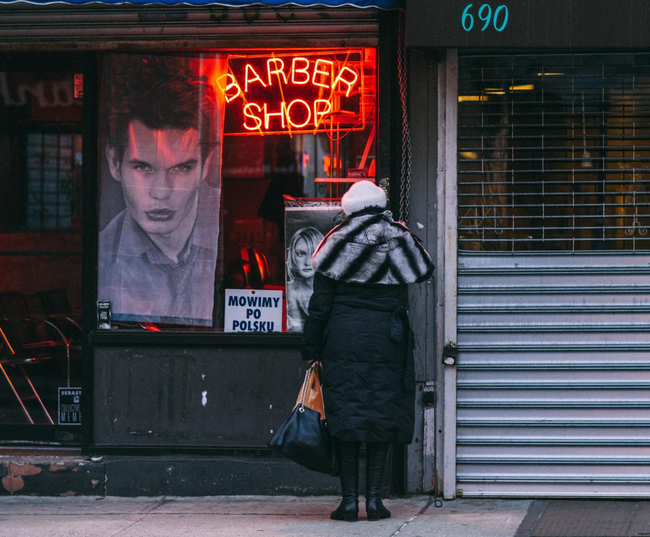 91. Barber Shop