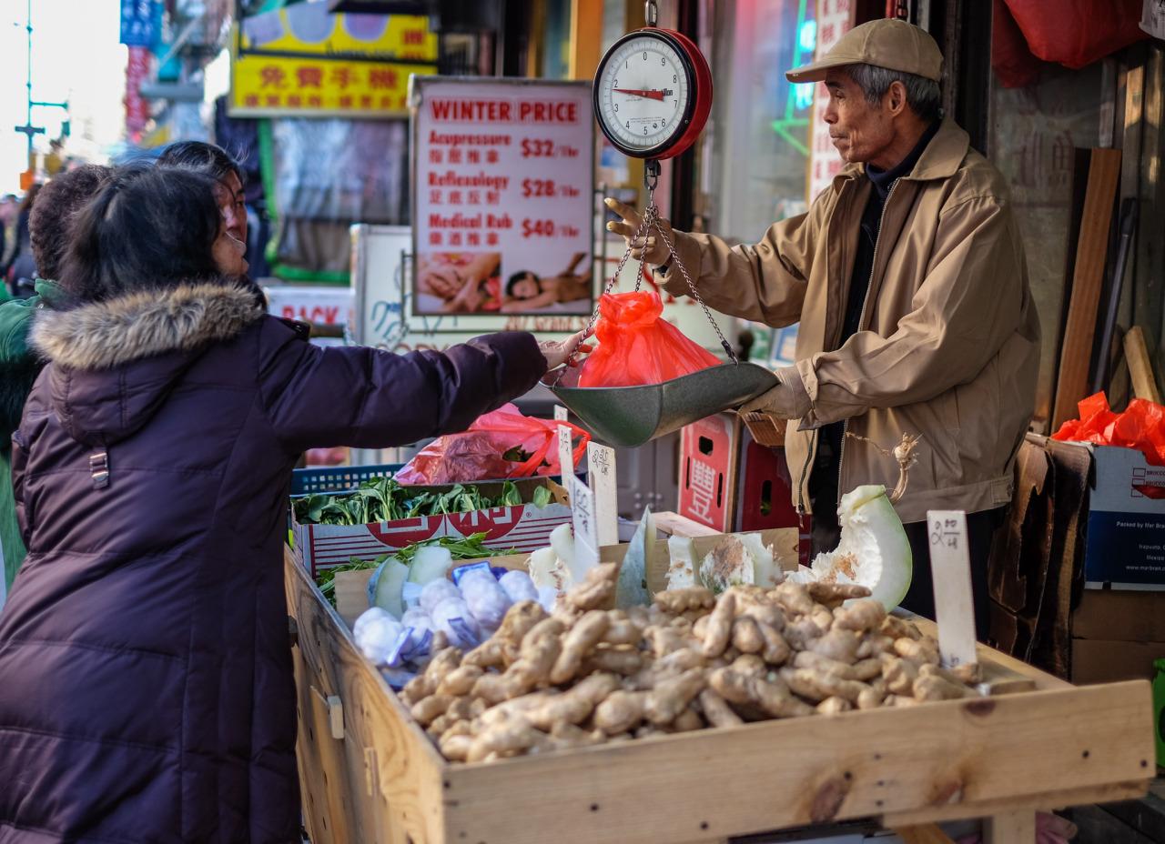 87. Chinatown Produce    www.willoharephotography.com