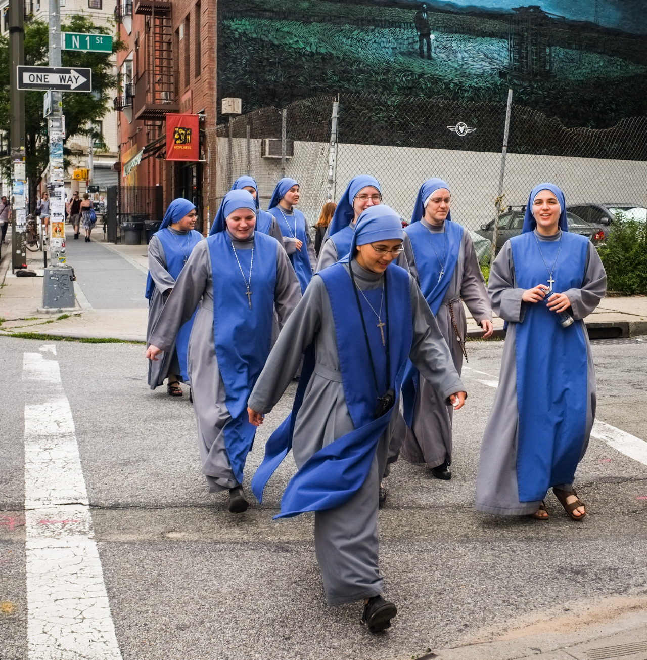 Nuns on Bedford