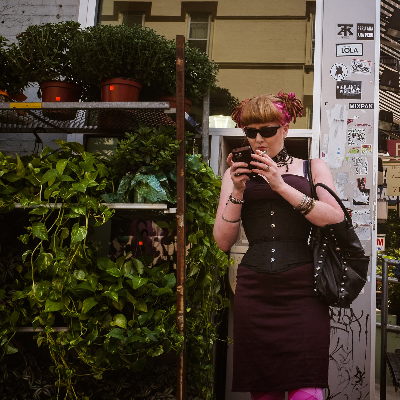 245 - Texting on Bedford   #366project #FujiX100