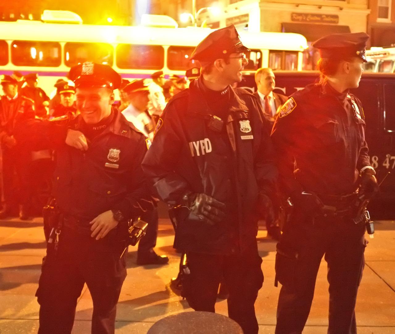 127 - NYPD Lights   #366Project #FujiX100