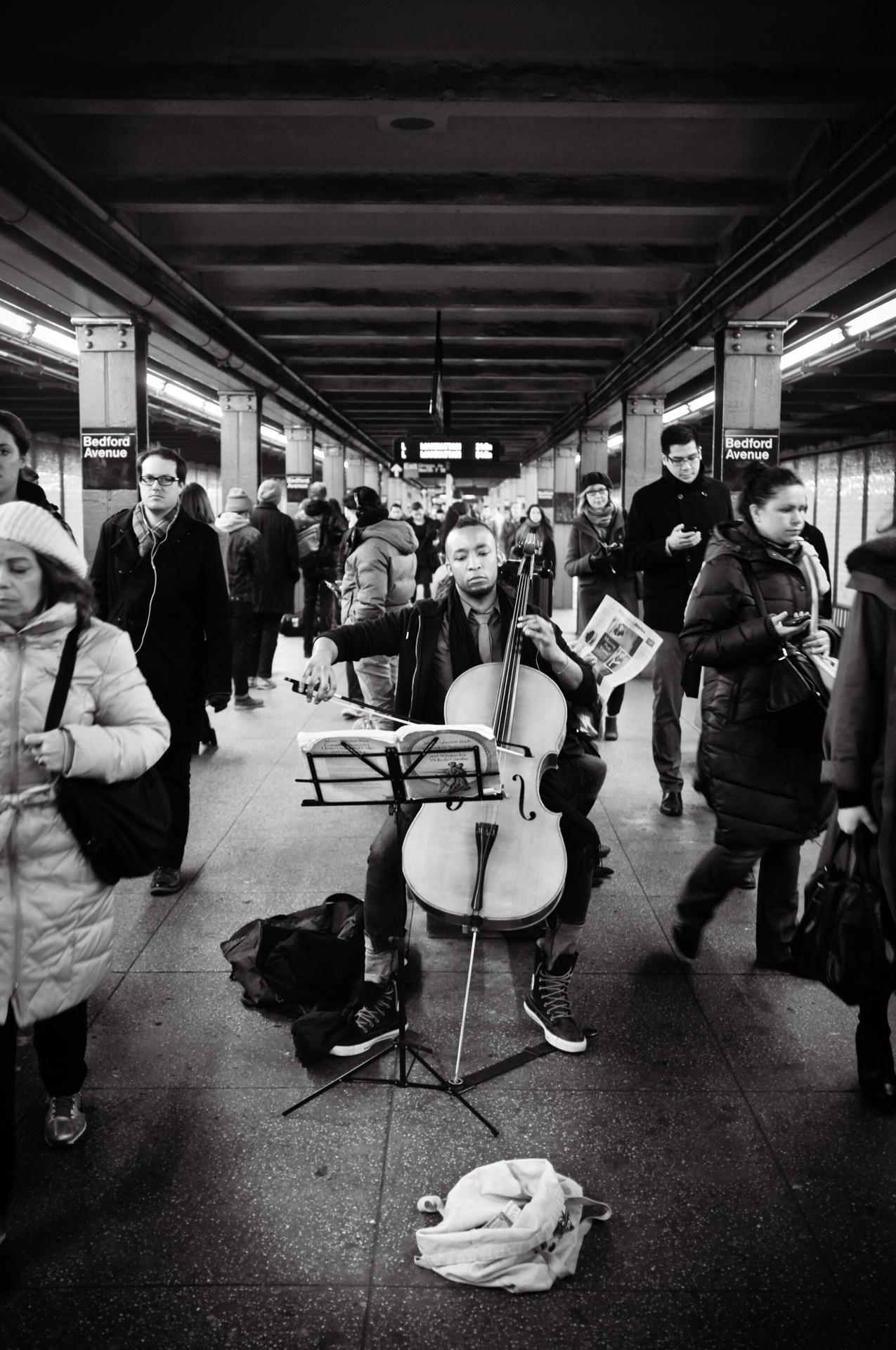 61 - Rush Hour Cello   #366Project #FujiX100