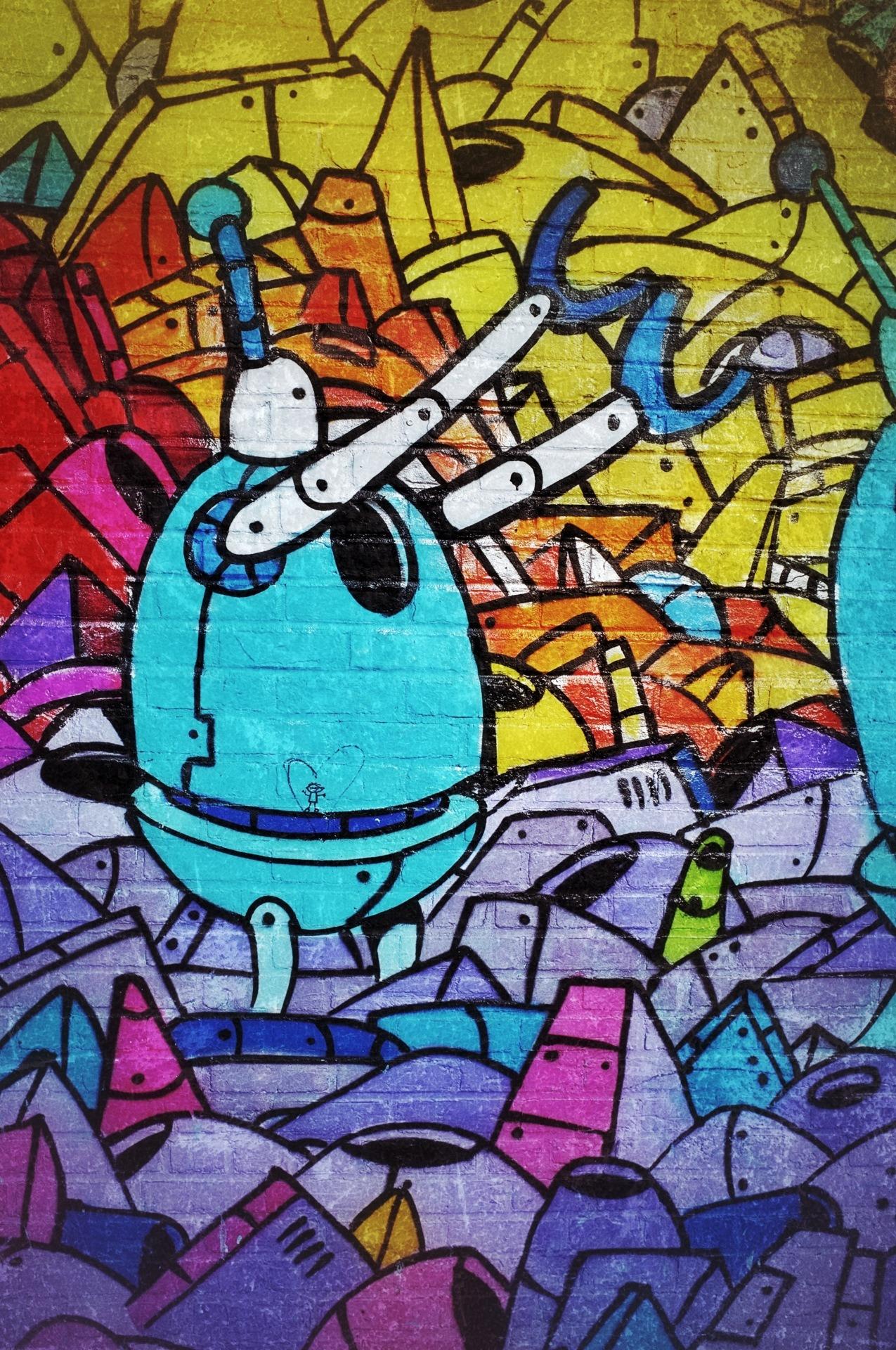 37 - Graffiti Bot   #366Project