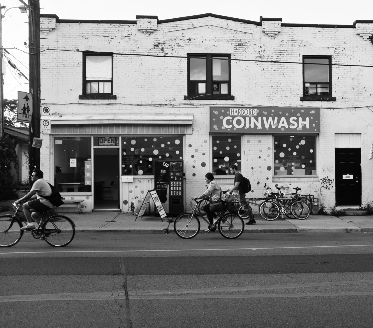 Harbord Coin Wash, Toronto.