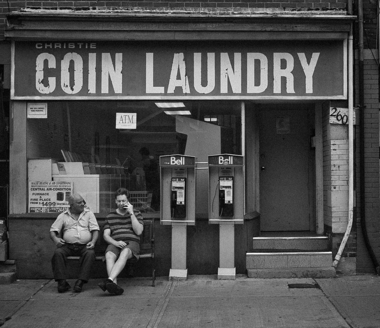 Christie Coin Laundry. Toronto.