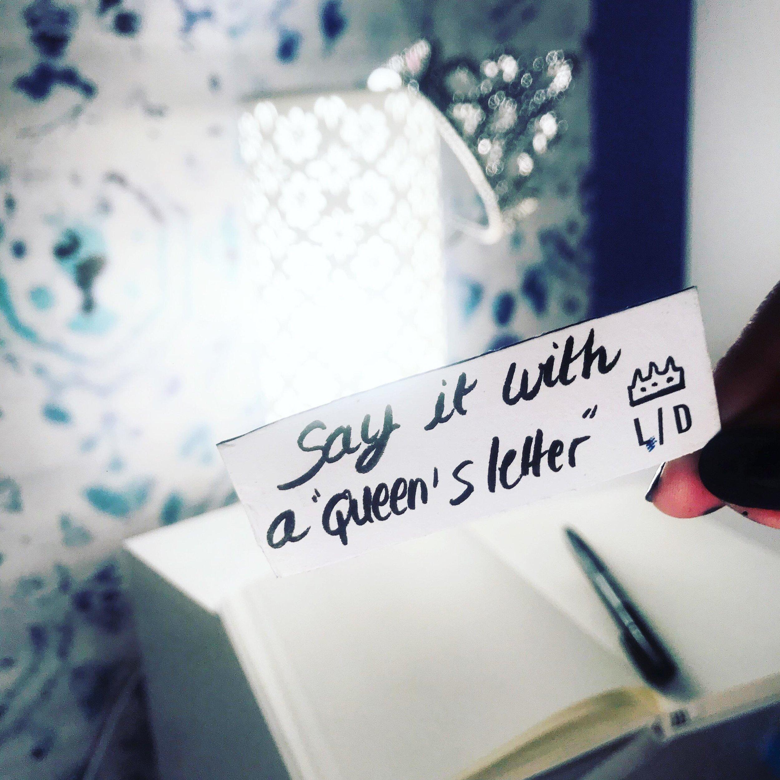 queen's letters