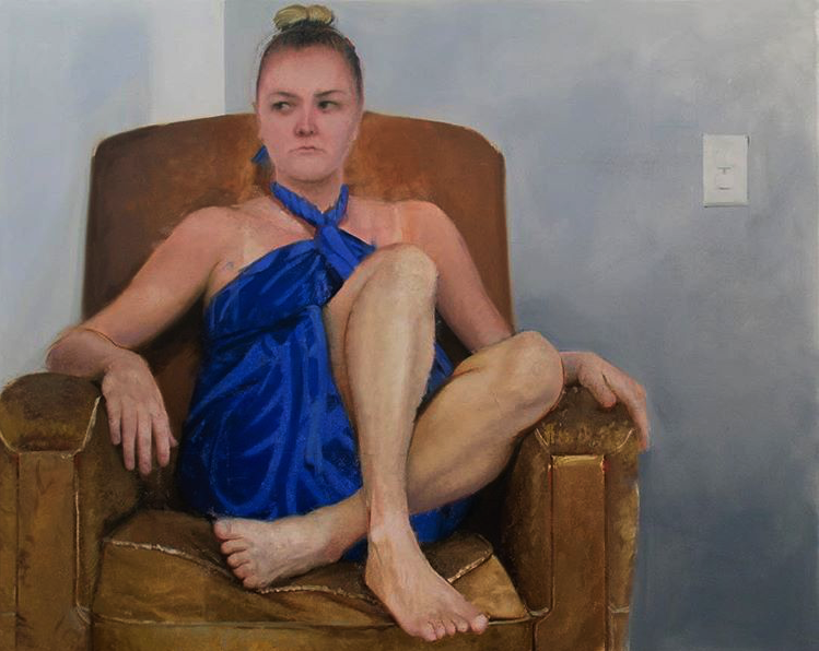 Painting by Garrett Cook, 2017  garrettjcook.com