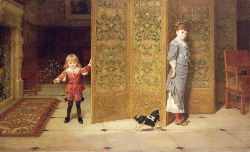 Frederick Goodall, Puritan and Cavalier