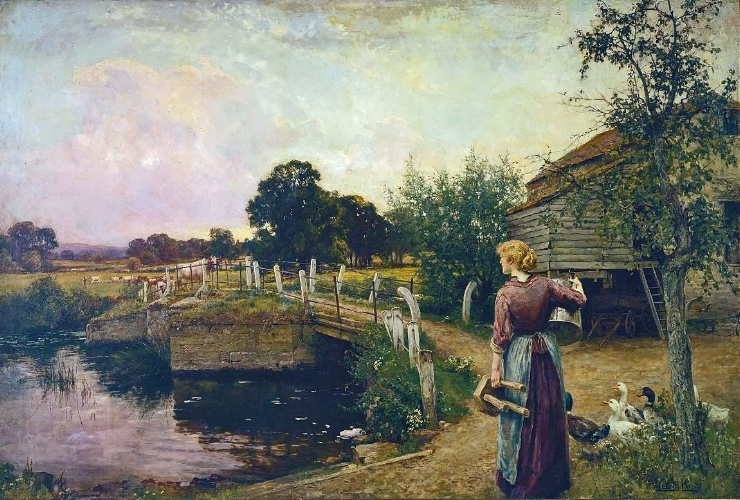 Henry John Yeend King, Milking Time