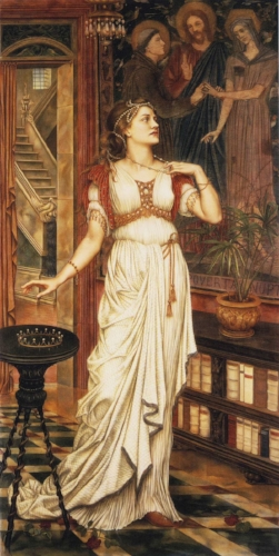 Evelyn de Morgan, The World's Wealth (The Crown of Glory)