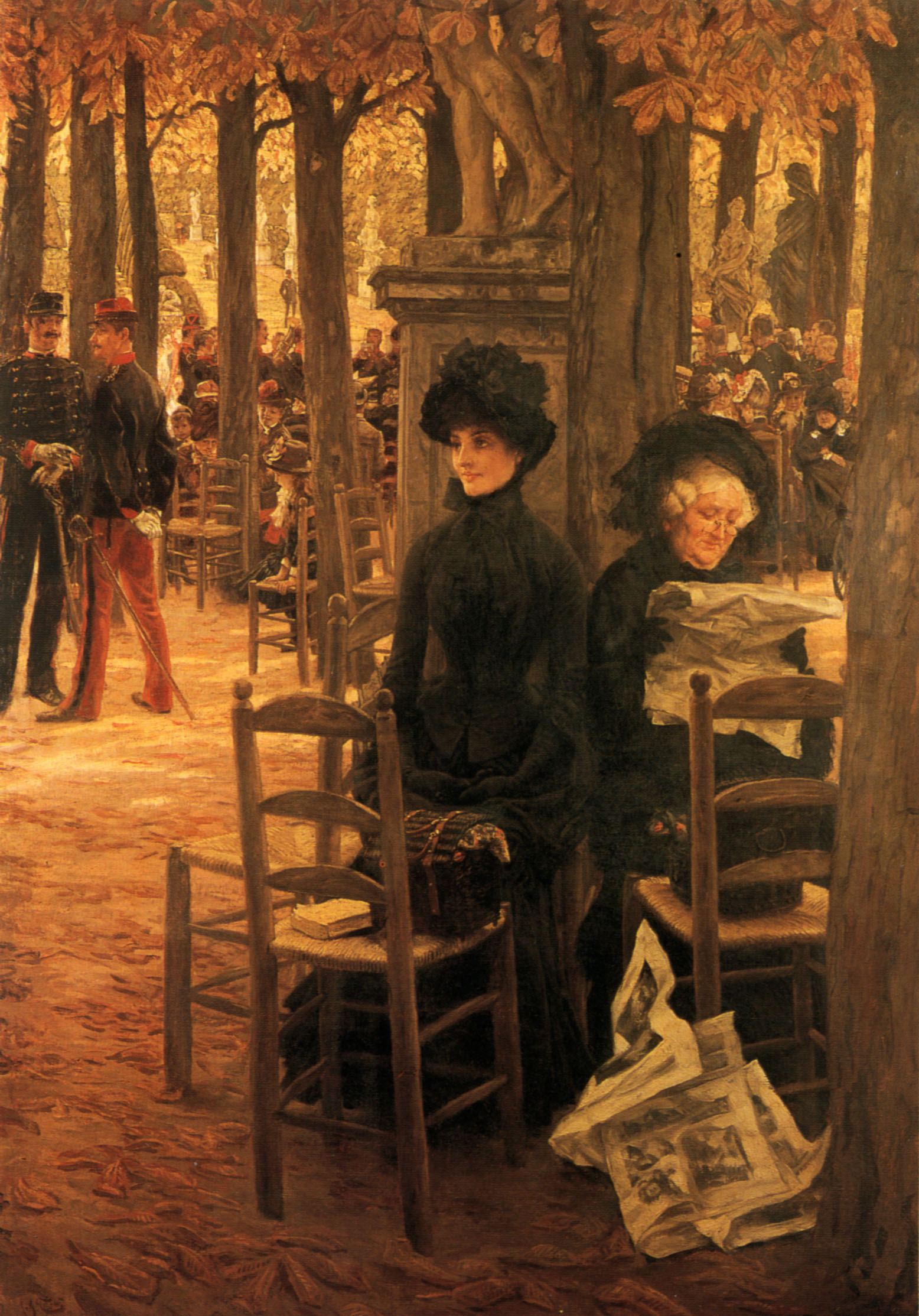 James Tissot,Without a Dowry