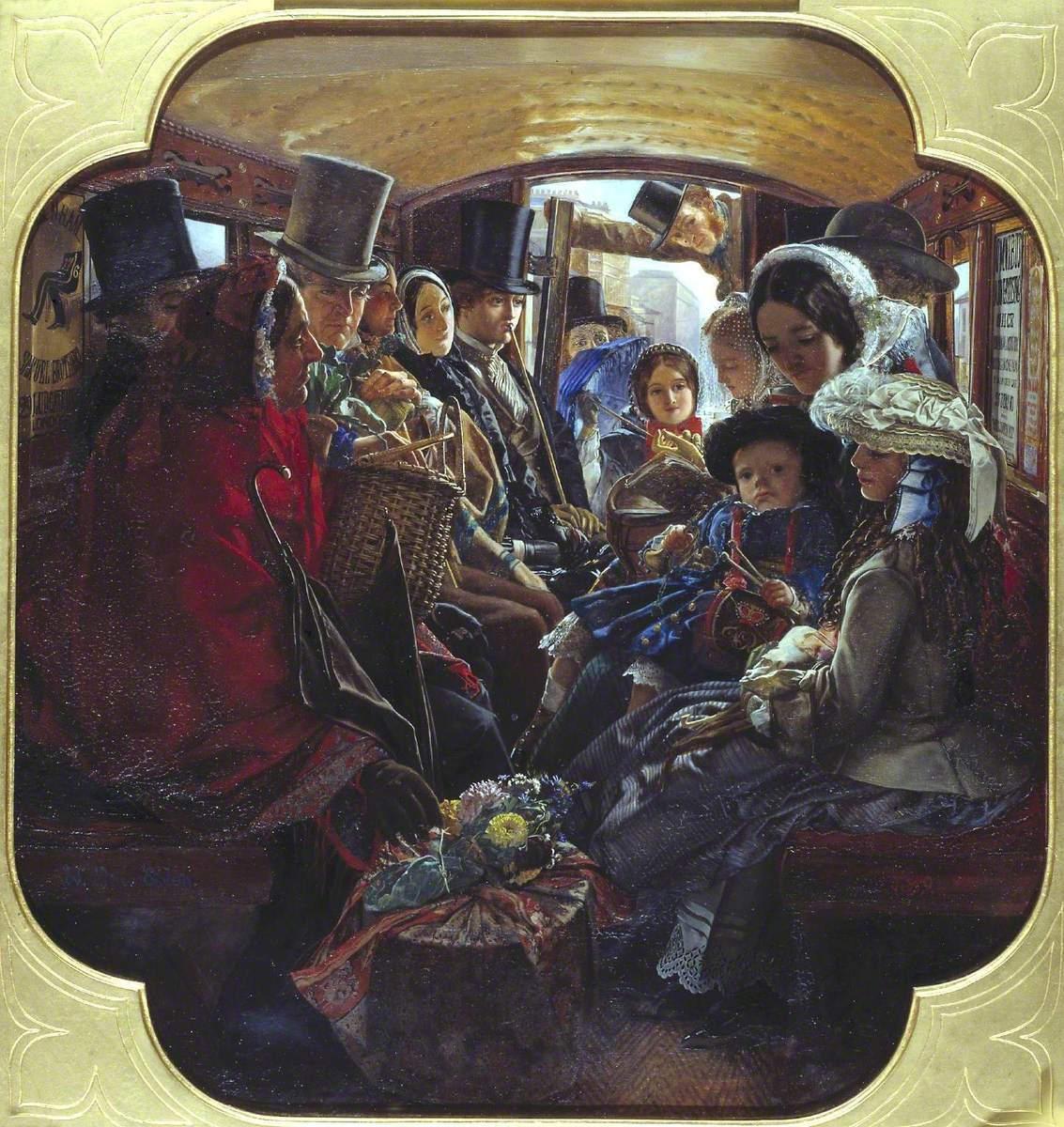 William Maw Egley,Omnibus Life in London