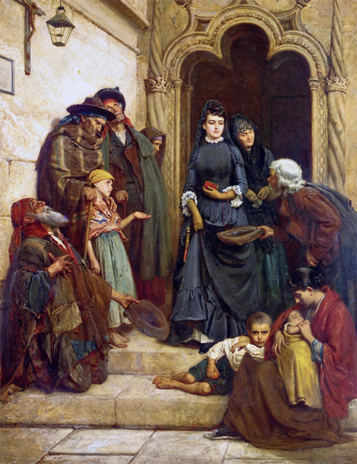 John Bagnold Burgess,The Church Door