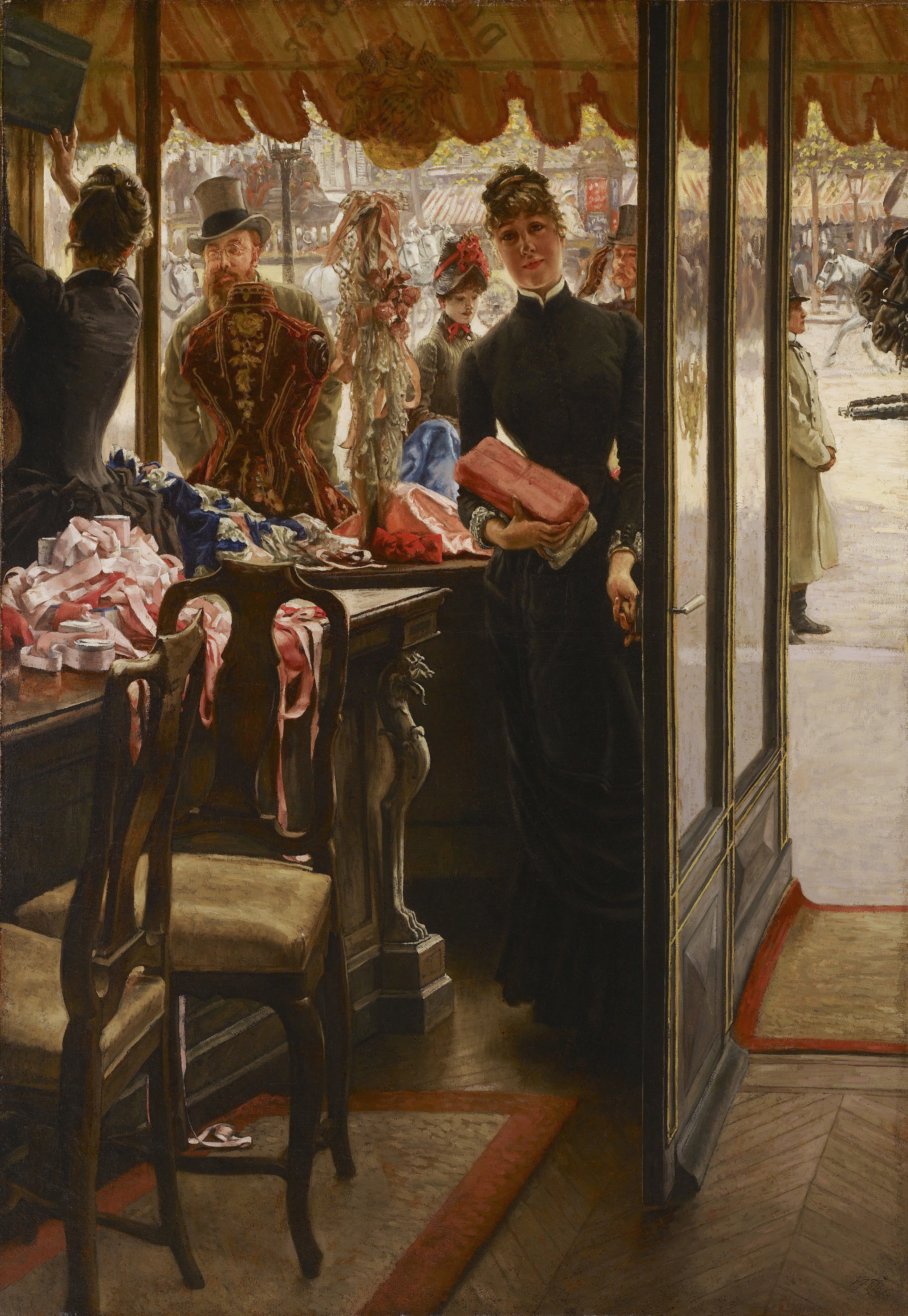 James Tissot, The Shop Girl