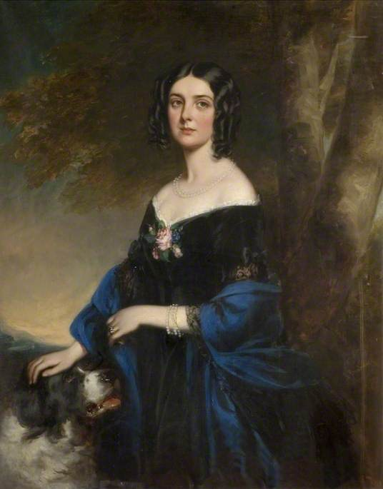Richard Buckner,Margaret Laetitia, Lady Western, née Bushby