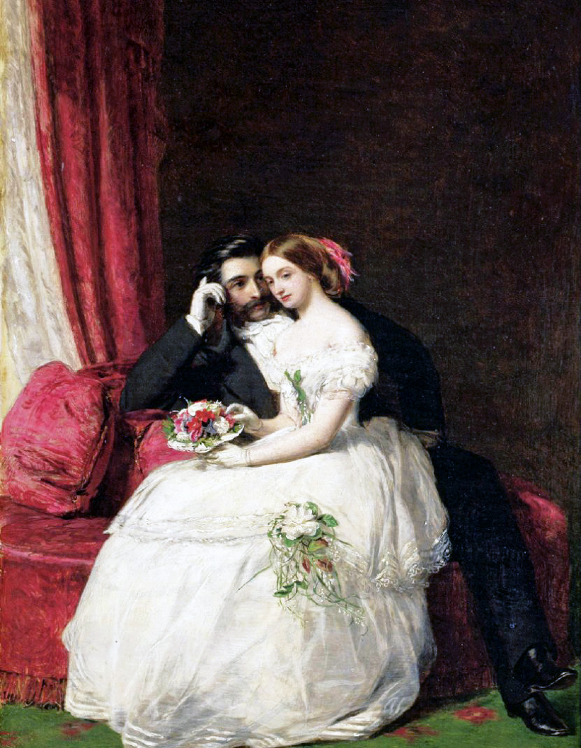 William Powell Frith,The Proposal